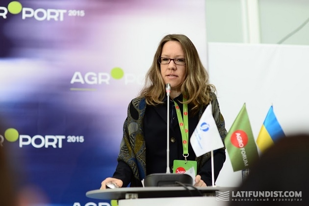 Руководитель регионального направления финансового развития малого и среднего бизнеса ЕБРР Марина Исмаила