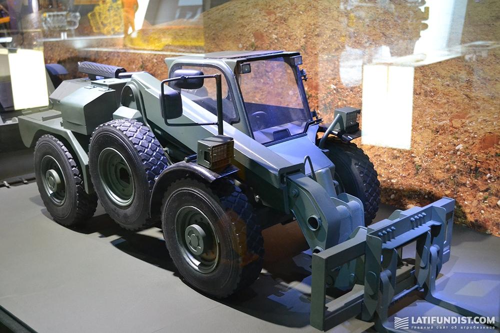 JCB занимается разработкой, производством и поставкой военной техники для инженерных войск