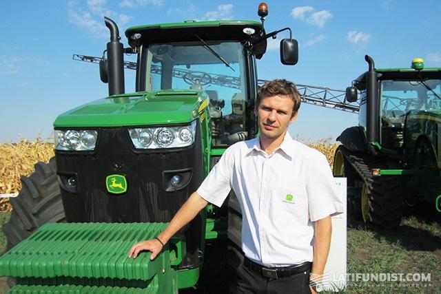 Константин Кувалдин, территориальный менеджер ООО «John Deere Украина»