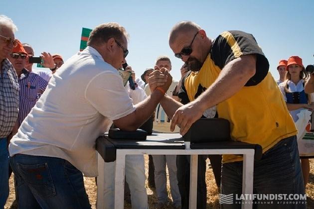 Богатырские игры на Дне поля КВС-Украина