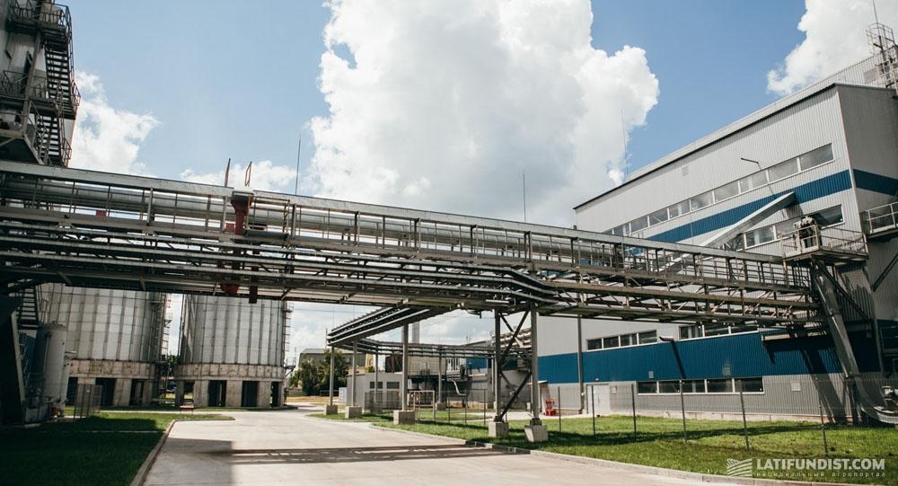 Глобинский соеперерабатывающий завод агропромхолдинга «Астарта-Киев»
