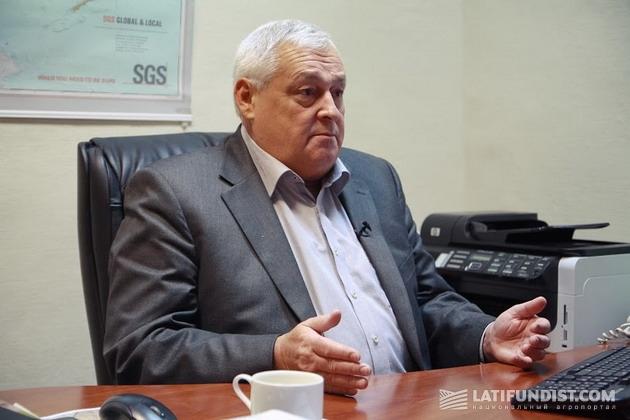 президент Украинской зерновой ассоциации (УЗА) Владимир Клименко