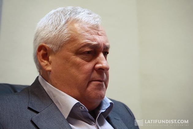 Президент Украинской зерновой ассоциации (УЗА) Клименко Владимир