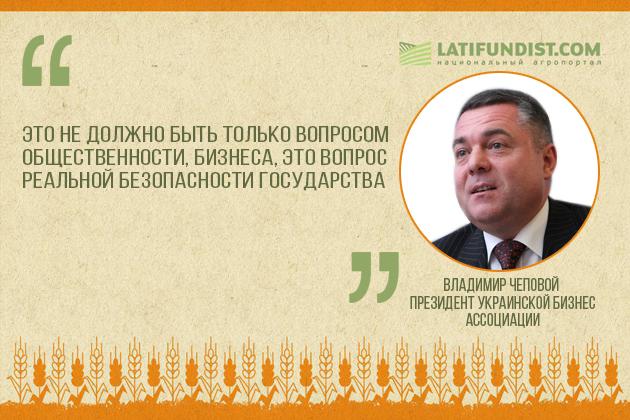 Владимир Чеповой, Президент Украинской бизнес ассоциации