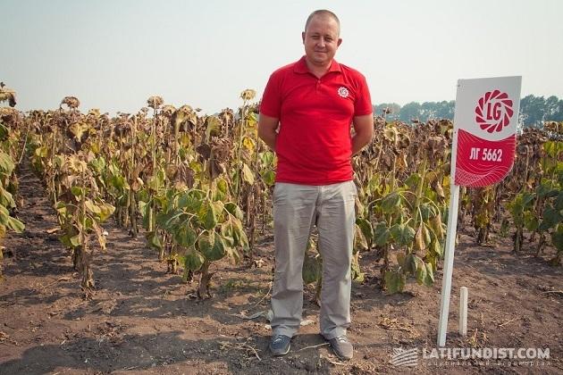 Руководитель Юго-восточного региона компании «Лимагрейн Украина» Виталий Шишка