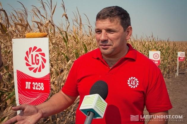 Продукт-менеджер «Лимагрейн Украина» Владимир Кузьмич