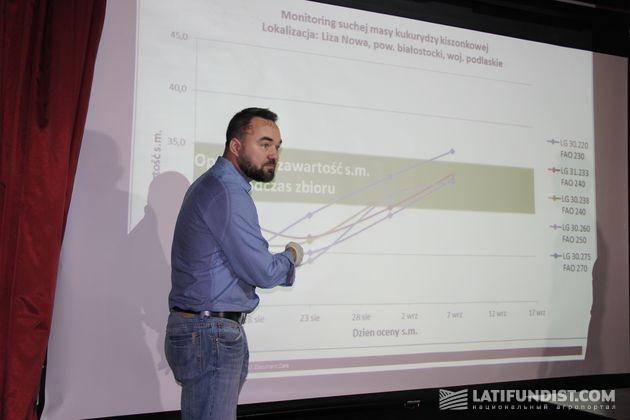 Лешек Хвалиш, продукт-менеджер компании «Лимагрейн Польша»