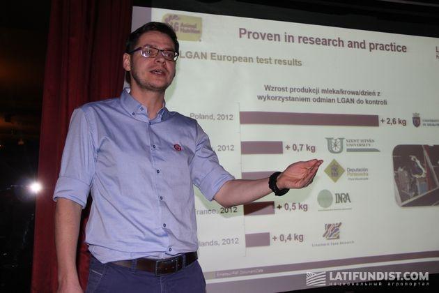 Марек Сквира, LGAN-менеджер компании «Лимагрейн Польша»