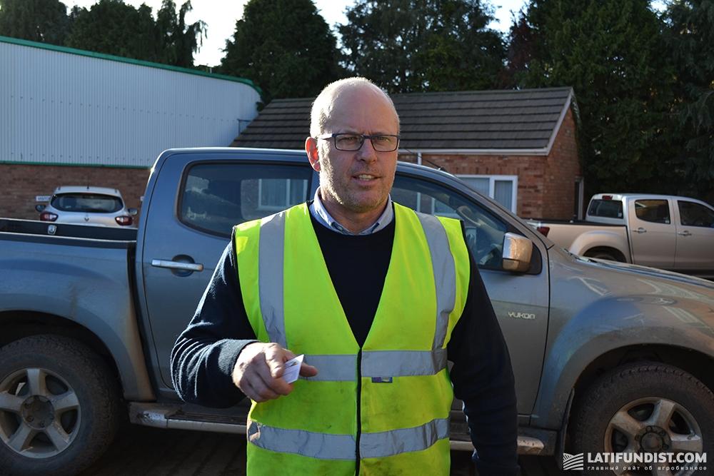 Пол Лэнгфорд, исполнительный директор компании Lincolnshire Field Products