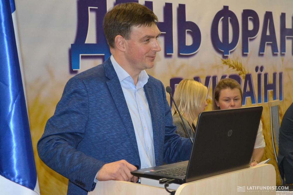Евгений Радовенюк, генеральный исполнительный директор Grain Alliance