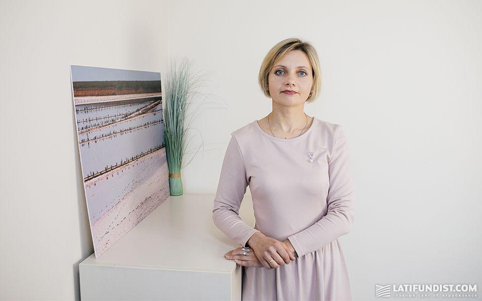 Татьяна Волочай, директор Благотворительного фонда «МХП-Общине»