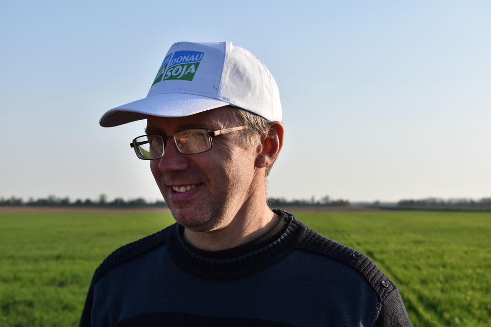 Николай Быков, автор материала, агроном-консультант, Ассоциация «Дунайская Соя»