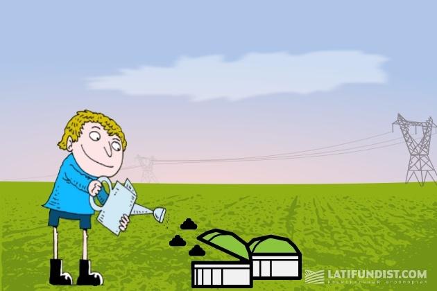 Большое количество сельскохозяйственных ферм и угодий создают благоприятные условия для достижения энергетической независимости Украины