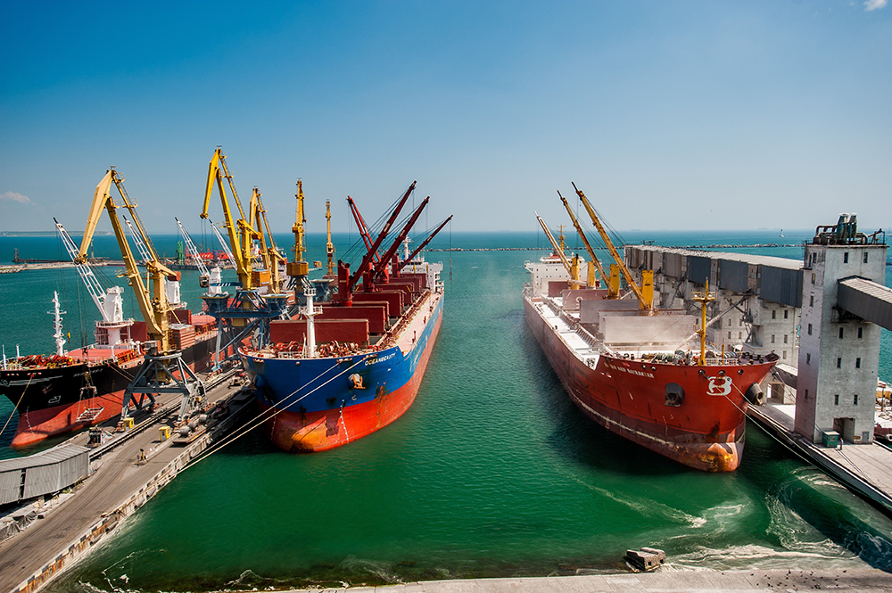 Transshipment of agro cargo