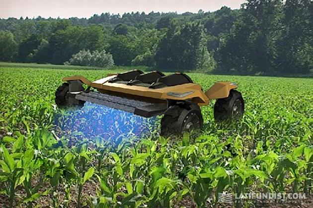 Сельскохозяйственные роботы. Фото: zhivaya-zemlya.livejournal.com