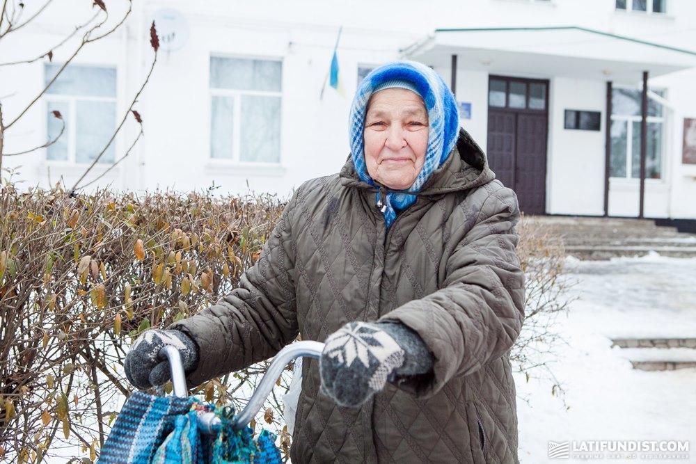 Сельская пенсионерка