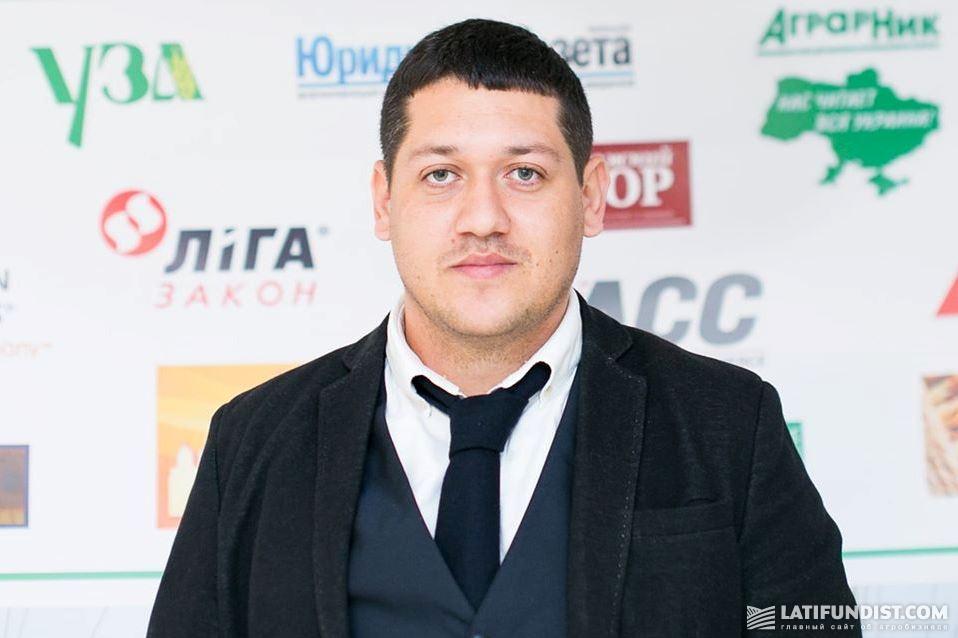Vladyslav Sedyk, President of the Phytosanitary Association of Ukraine