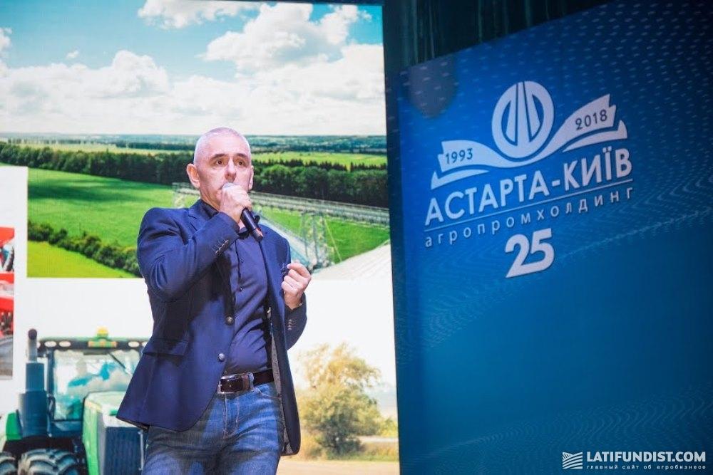 Выступление Желько Эрцега на праздновании 25-летия компании