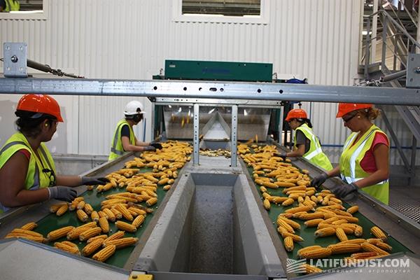 На заводе Monsanto