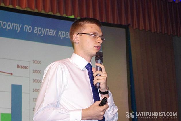 Игорь Остапчук, эксперт аграрных рынков УКАБ