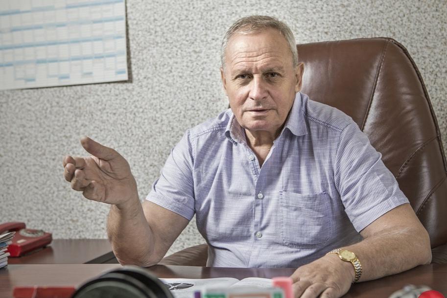 Алексей Голубов, глава Союза химиков Украины