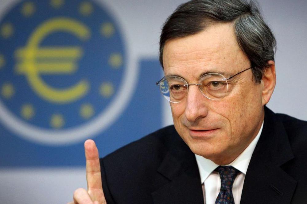 Марио Драги, председатель Европейского центрального банка
