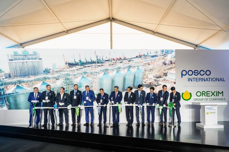 Открытие зернового терминала