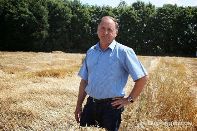 Александр Журба каждый день выезжает в поля