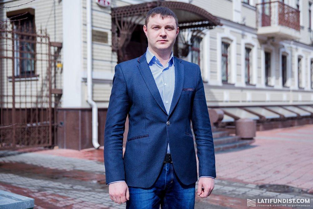 Александр Панасюк, специалист земельного отдела агрогруппы «Агрейн»