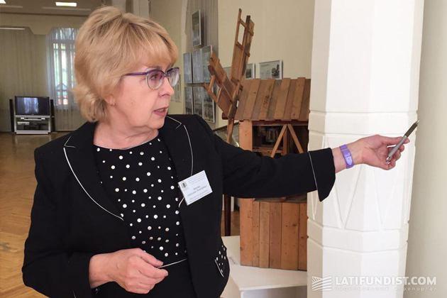 Заведующая научно-исследовательской экспозиции отдела природы музея Светлана Кигим