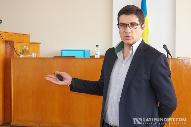 Директор по продажам «Толсма Украина» Олесь Капитанчук