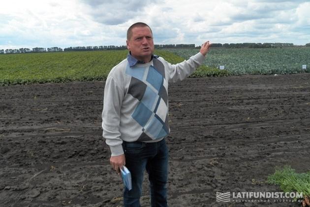 Главный агроном предприятия «Агробизнес ТСК» Виктор Скляров