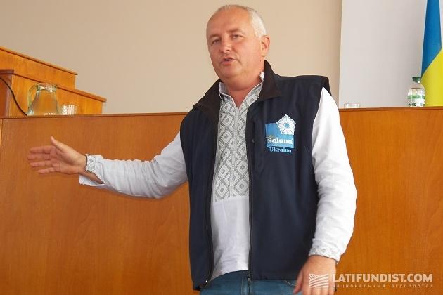Руководитель «Солана Украина» Игорь Завадский
