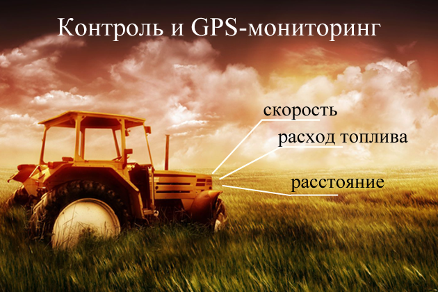 Контроль и GPS-мониторинг