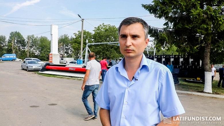 Тимофей Хлопьячий, руководитель GPS-отдела предприятия «Винницкая агропромышленная группа»