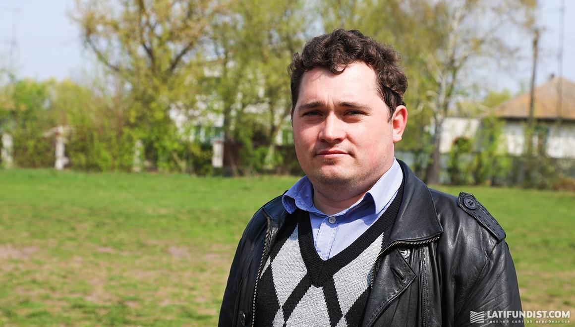 Юрий Грынь, глава общественной организации «Федерация футбола в Носовской общине»