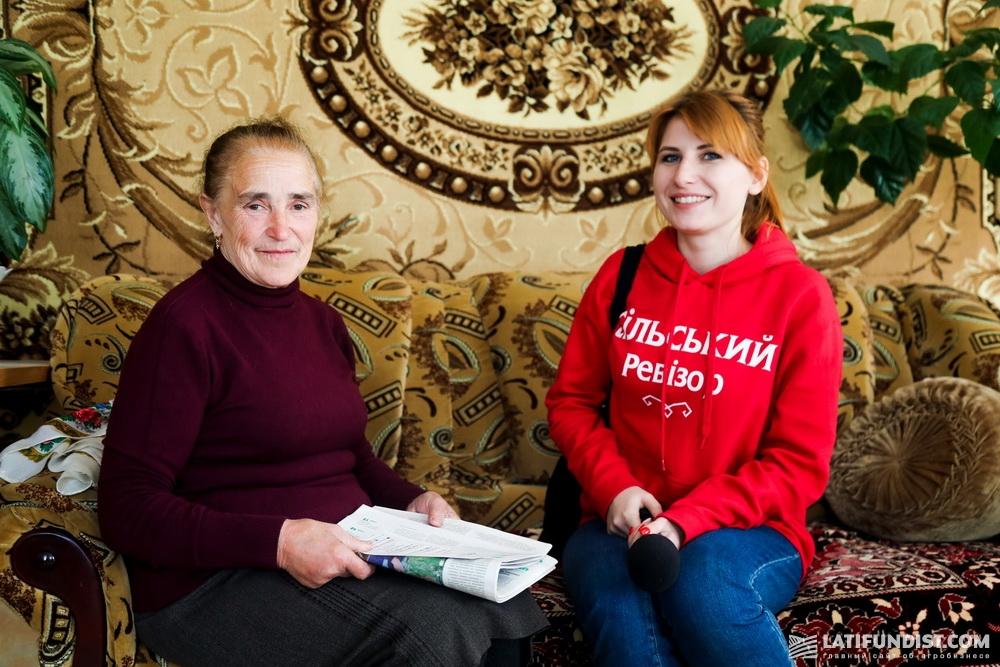 Жительница Володьковой Дивыци Надежда Литвиненко уже много лет доверяет свой пай аграриям и довольна выплатами