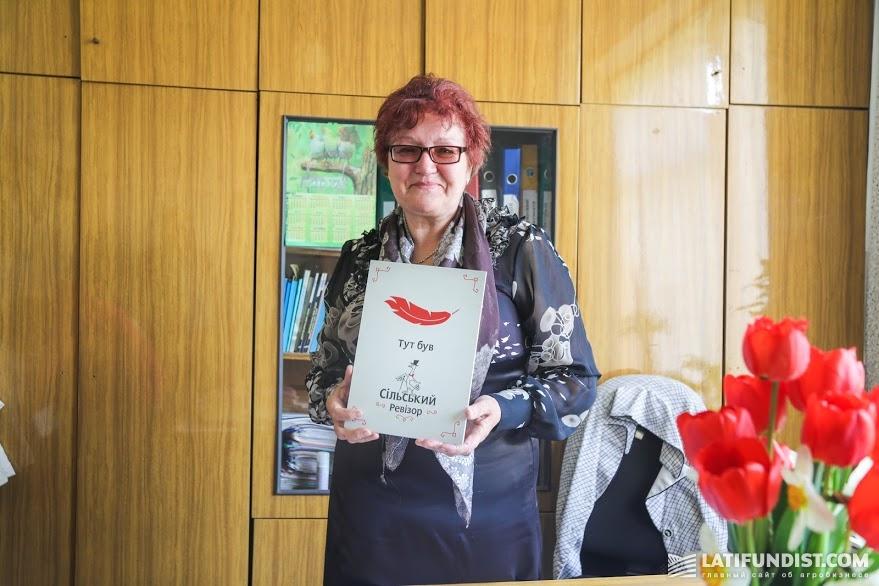 Валентина Вовкогон, директор школы