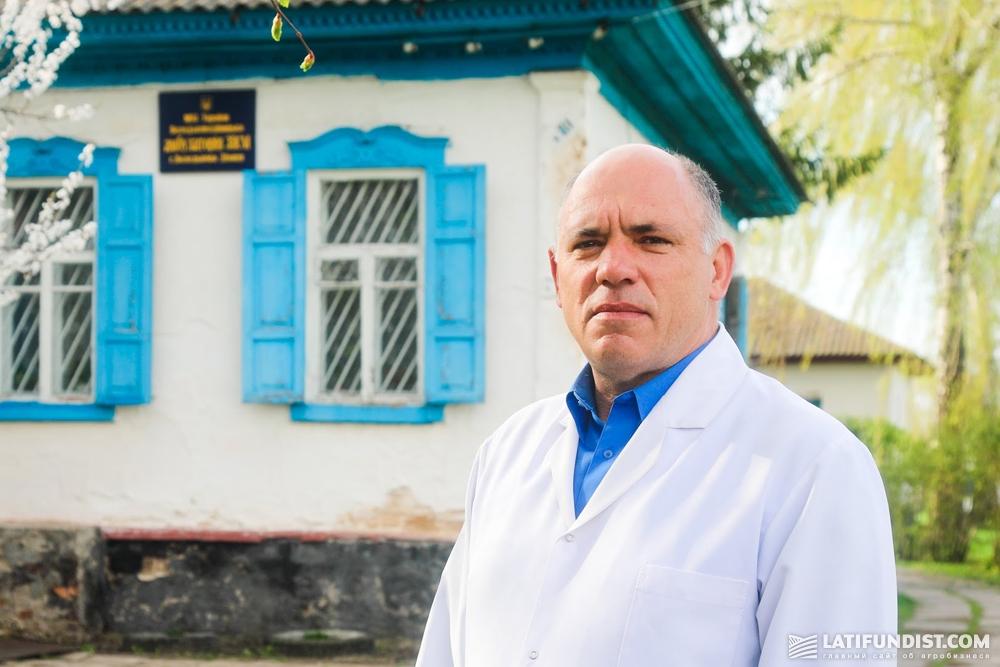 Дмитрий Скрипа, заведующий фельдшерско-акушерским пунктом
