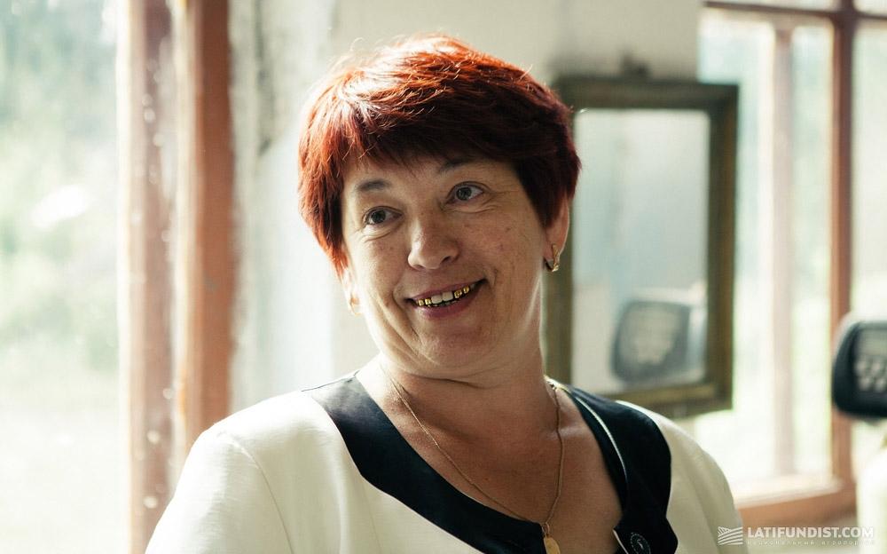 Клавдия Загородная, директор школы