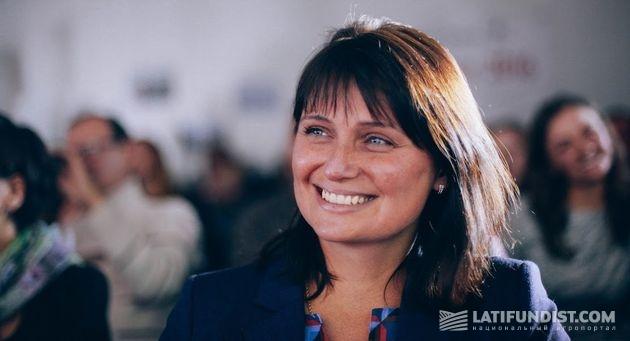 Елена Ковалева, заместитель министра аграрной политики и продовольствия Украины