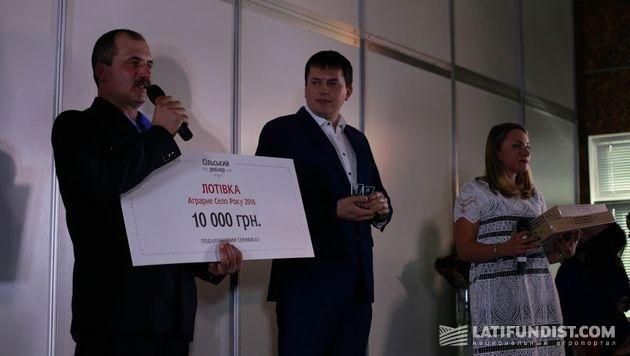 Александр Павлюк, глава сельсовета Лотовки
