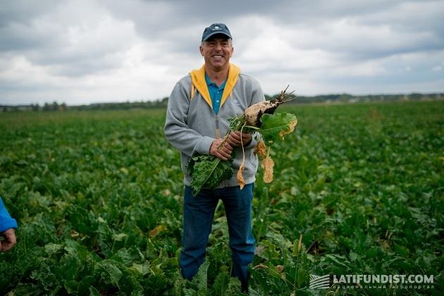 Ведущий агроном по семеноводству «Астарта» Владимир Ренкас