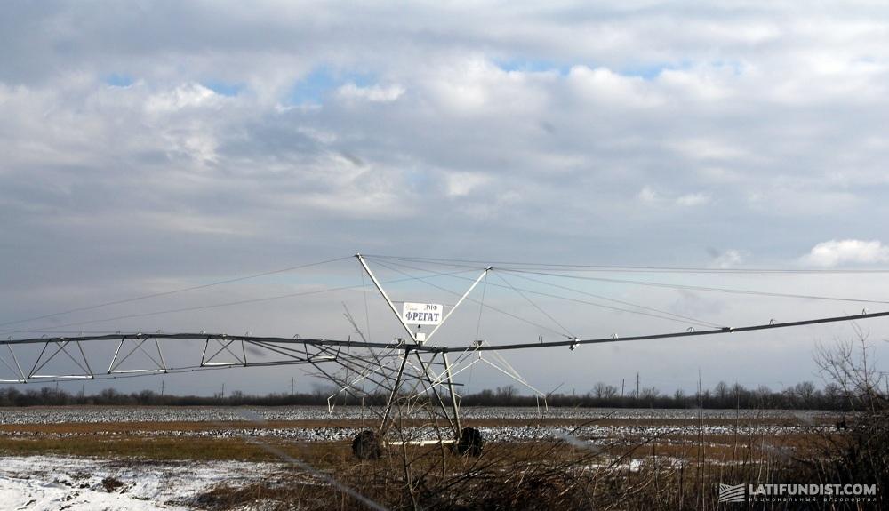 Оросительная система на полях «Деметра-Агро»