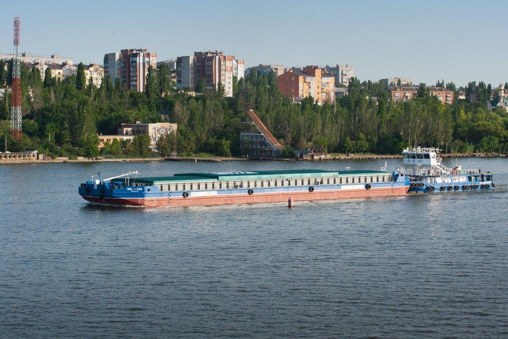Речной флот компании НИБУЛОН