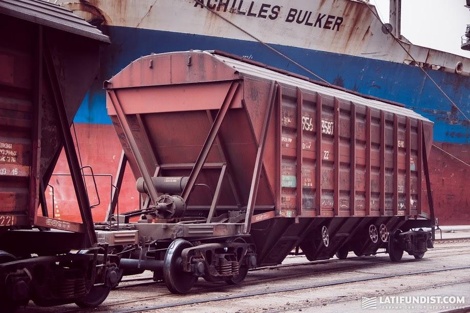 Несколько лет назад произошла существенная переориентация грузопотоков зерна с автотранспорта на железнодорожный транспорт