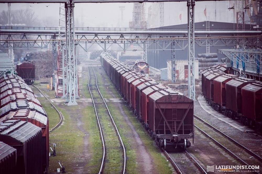 В данный момент планируется ежемесячно отправлять от 450 до 550 грузовых поездов по РРМП
