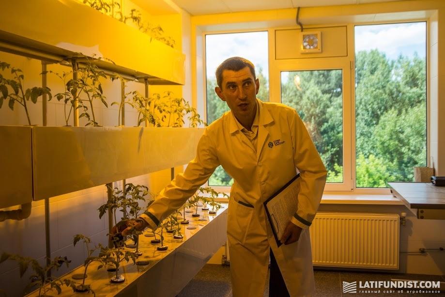 Лаборатория «Институт здоровья растений»