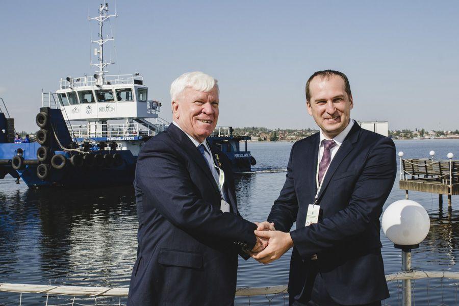С главой Минагропрода Алексеем Павленко