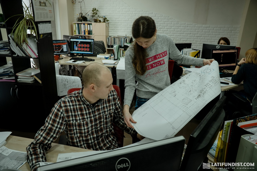 Проектный отдел компании «Интерпроект GmbН»